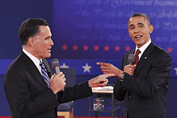 Romney attacls President Obama