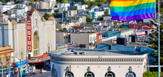 castro-pride-flag-pole