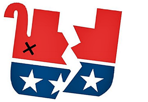 GOP split