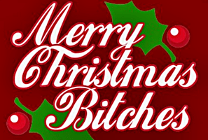 Merry Christmas Bitches'
