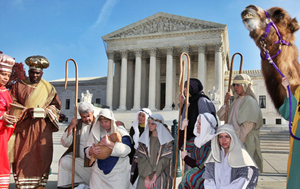SCOTUS Nativity Protest
