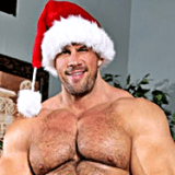 Santa naked
