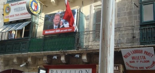 Labour Party club, Valletta, Malta