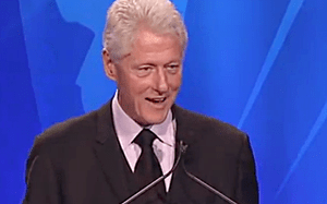 Bill Clinton GLAAD award