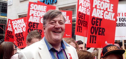 British broadcaster Stephen Fry