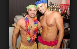 Gay Men grass skirts