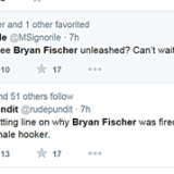 Fischer Fired