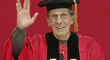 Leonard Nimoy  on same sex marriage