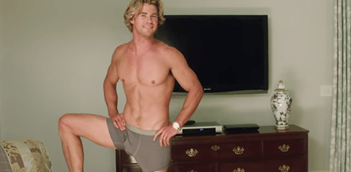 Vaction Chris Hemsworth Underwear