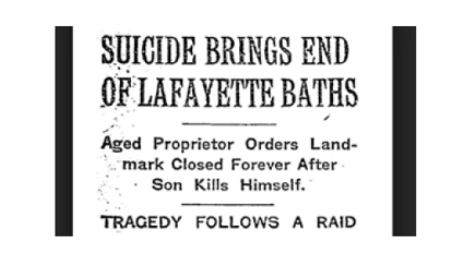 Gay/LGBT History Month - October 22nd: The Tragic Lafayette Bathhouse Raid of 1916 and Lord Alfred Douglas the Original Evil Queen