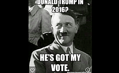 Hitler and Neo Nazis Vote 4 Trump