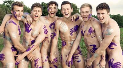 Warwick Rowers Naked