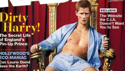 Dirty Prince Harry