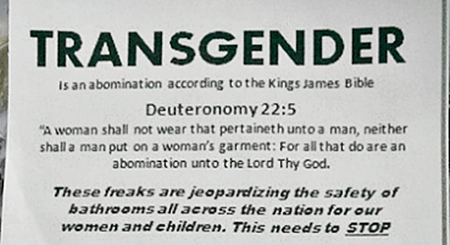Alabama KKK anti=trans flyer 1