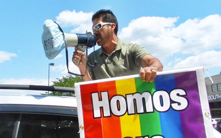 Street Screecher Preachers Continue To Invade and Rebuke Target Over Trans Inclusive Policies