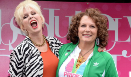 Sweetie Darlings! - Patsy and Edina Open and Absolutely Fabulous London Pride! - Video