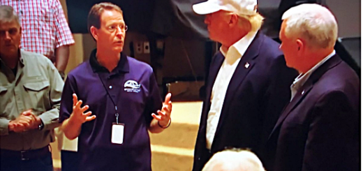 Trump Visits Louisiana, Meets With Waterlogged FRC Hate Group Leader Tony Perkins