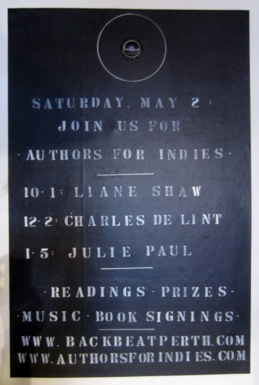 Authors for Indies Sign