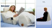 BedLounge & LegLounger Reclining Support Pillows ...