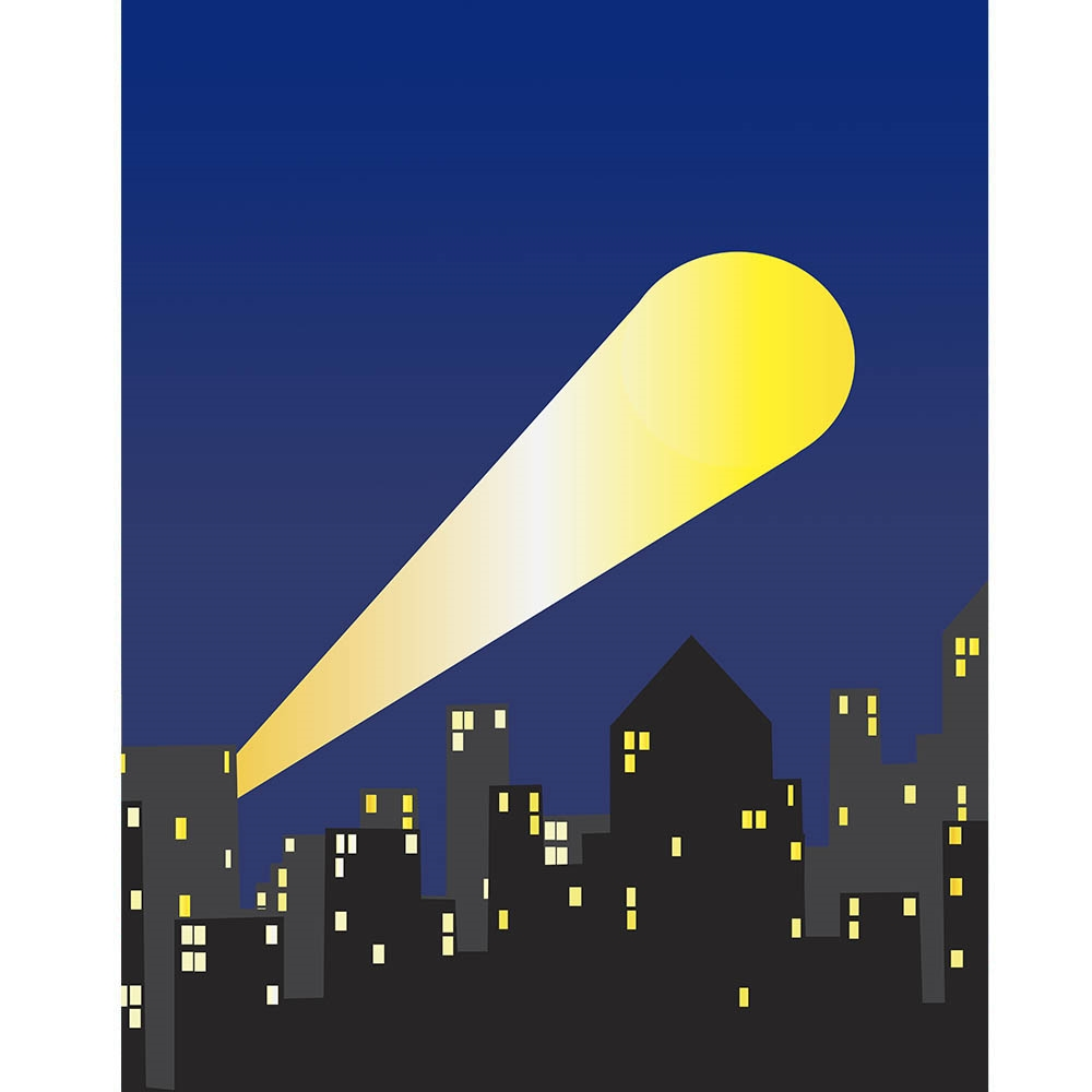 Free Fall Cartoon Wallpaper Bat Signal Printed Backdrop Backdrop Express