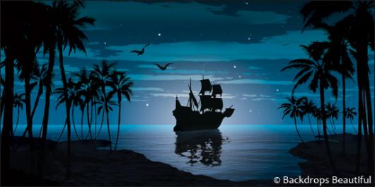 Pirate Wallpaper Quote Backdrops Beautiful Hand Painted Scenic Backdrop Rentals
