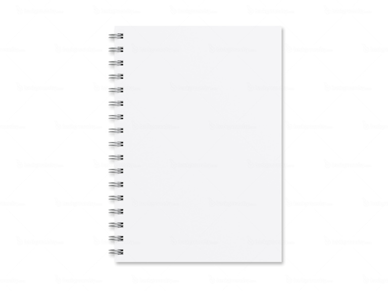 Blank notebook template Backgroundsy - notepad paper template