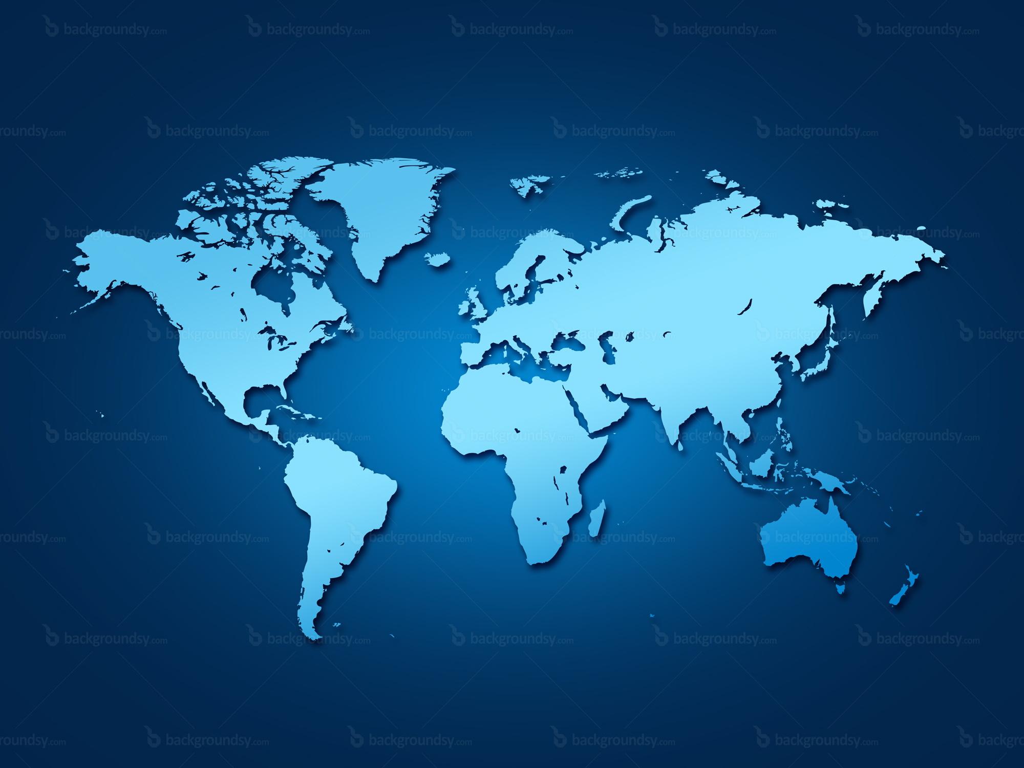 world map outline high resolution
