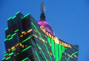 The Casino Lisboa - old meets new in Macau!