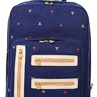 AINISI Girls Youth Preppy Style Canvas Travel Backpack Bookbags