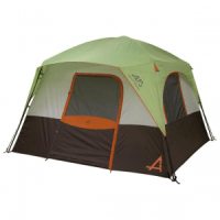 Alps  Mountaineering Camp Creek 4 Tent (SAGE/RUST)
