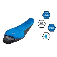 Aektiv Outdoors Lightweight 35 Degree Three Season Mummy Sleeping Bag, Camping, Hiking, Backpacking, Ultralight Compactable One Year Limited Warranty