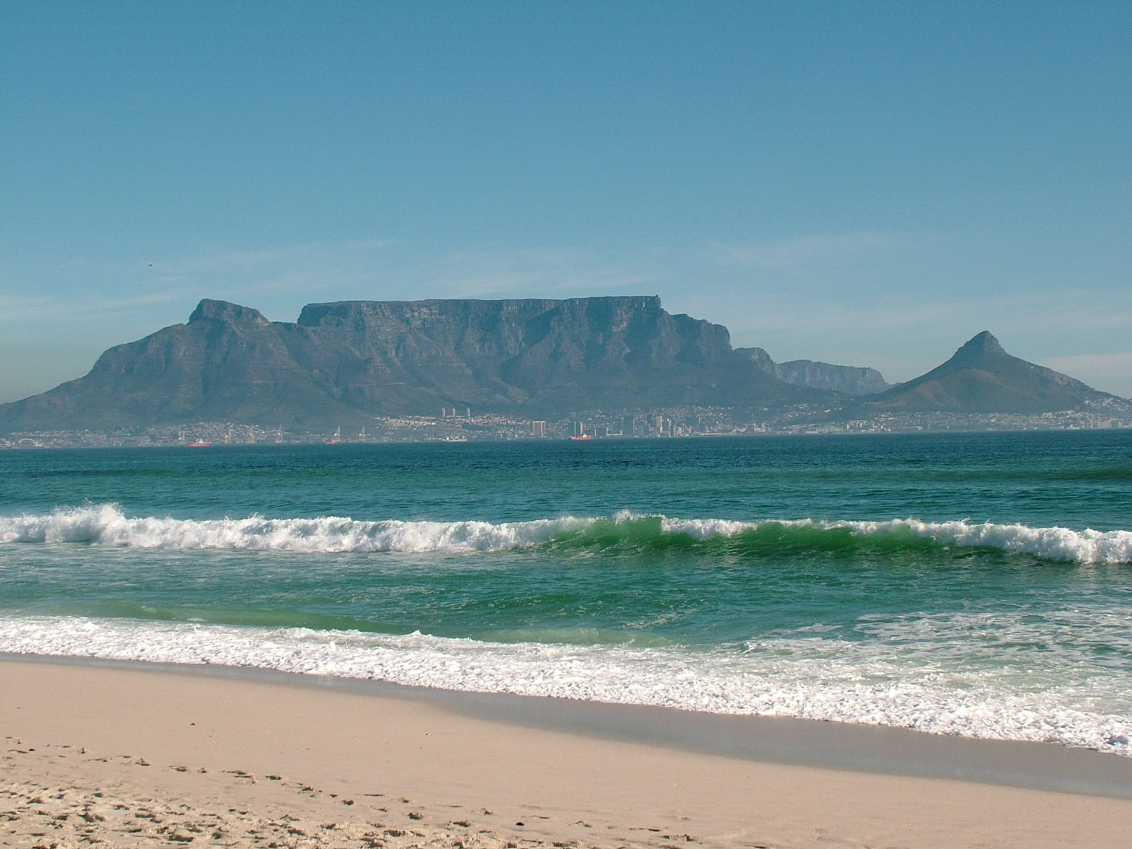 10 places to visit in cape town for Table mountain
