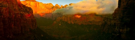 Southwest,Zion,sunrise,zion Canyon