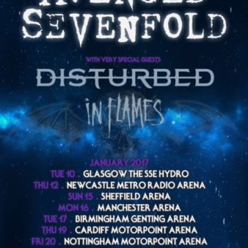 Avenged-Sevenfold-Disturbed-In-Flames-2017-UK-Tour-Poster