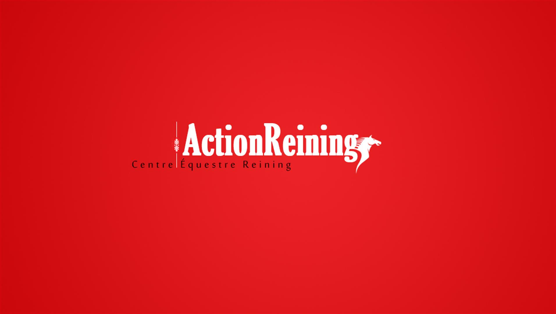 5 action reining logotype creation logo