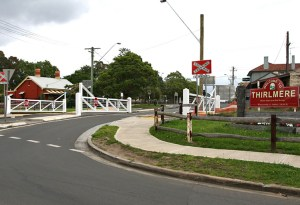 Thirlmere Level Crossing Trainworks