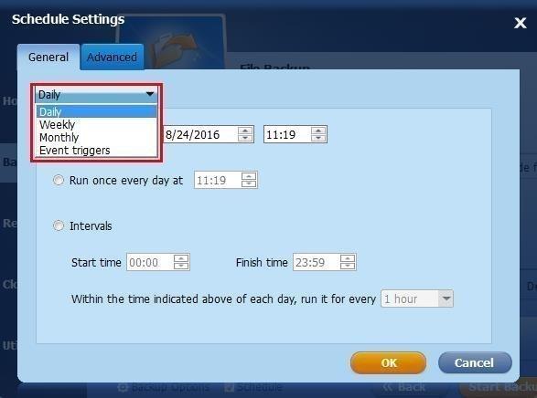 Three Backup Options for Automatic Laptop Backup