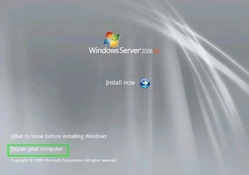 How to Repair Windows Server 2008 (R2)/2012 (R2)/2016 Using Command - windows repair install