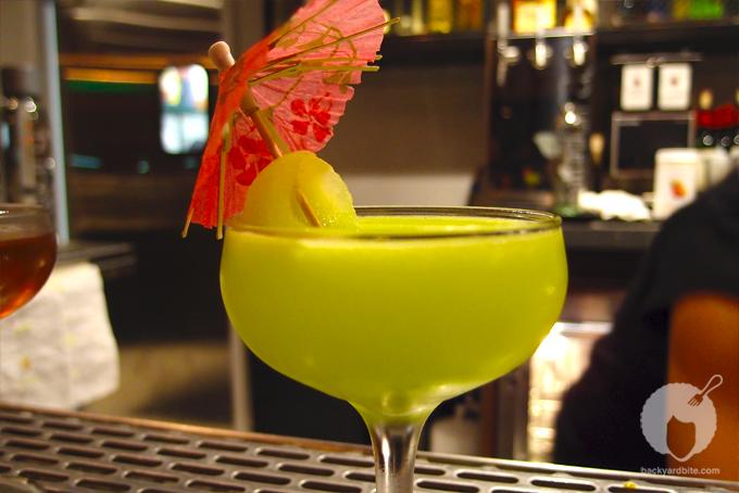 Plan Check Bar's Godzilla Cocktail