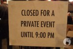 It's a private party yo!