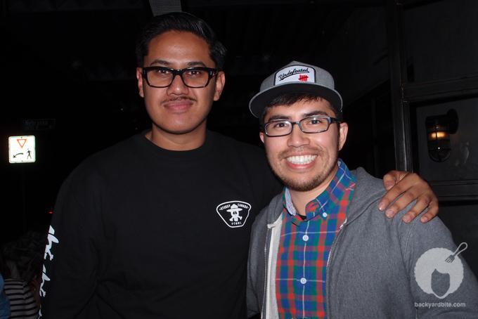 Stüssy's Omar Rajput and Jorge Oswaldo