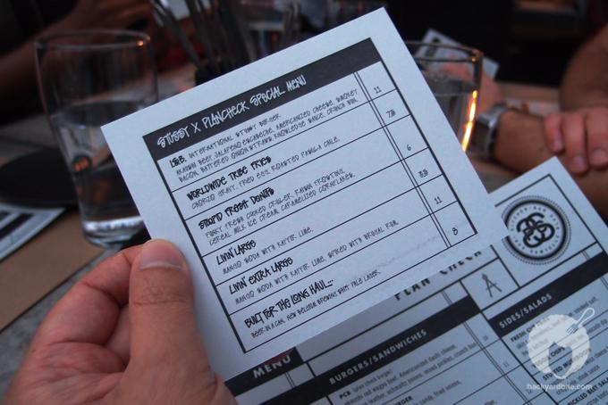 Special Stüssy inspired menu!