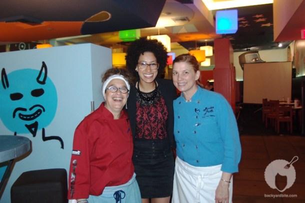 Susan Finegar, Amy T. Shuster, Mary Sue Milliken