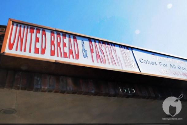 Outside United Bakery