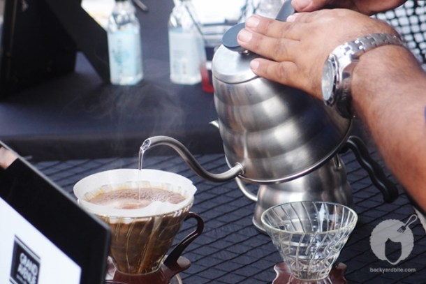 Pour over coffee by Grand Avenue Specialty Coffees and Tea