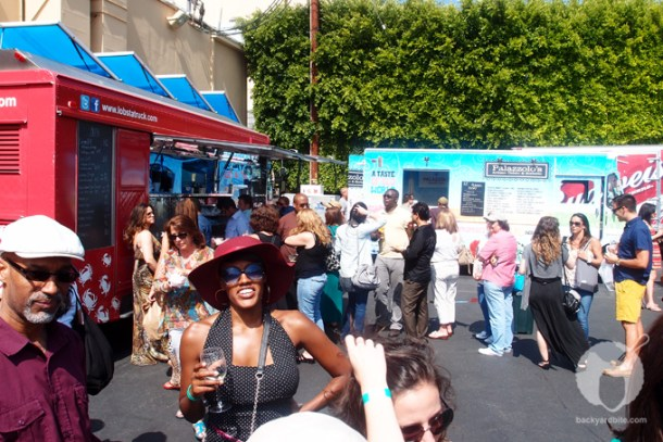 Food Trucks! At 8th Annual LA Wine Festival