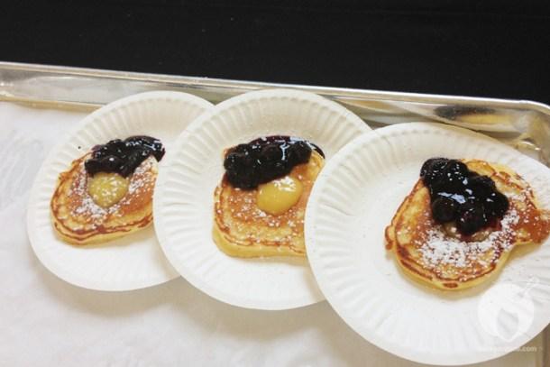 Brite Spot's lemon-blueberry pancakes