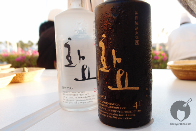 Sake to accompany Chef Lucia Cho's spicy pork dish.