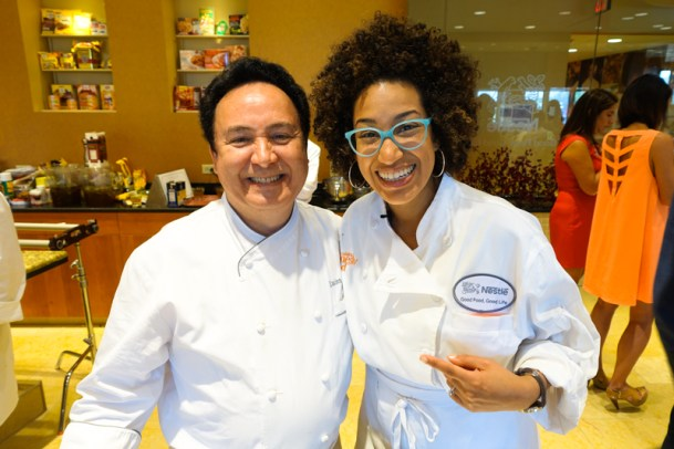 Our leader! With the awesome chef!