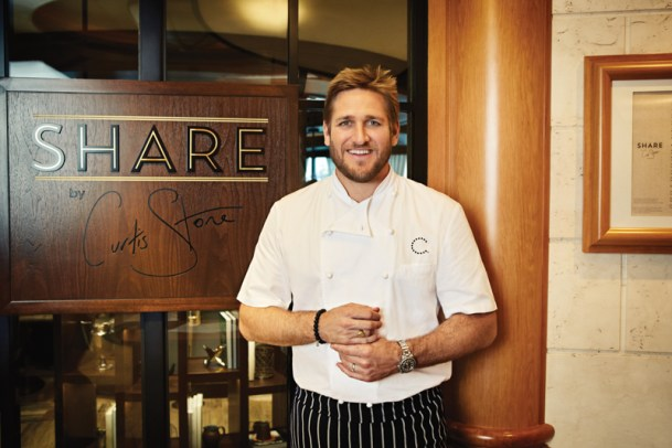 Chef Curtis Stone. That face is worth the price of admission. Amirght!? ;) Photo Courtesy of Princess Cruises SHARE